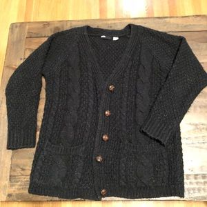 Urban outfitters black knitted sweater